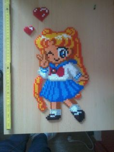 Sailor Moon Perler beads by Awi87 on deviantART