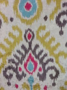 Moonstone Ikat Fabric  Suitable for Upholstery, Drapery, and Bedding. Click the picture for more information and purchasing opportunities!