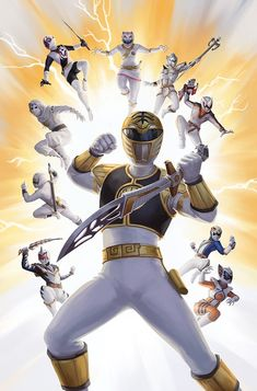 Mighty Morphing Power Rangers White by Darantha on DeviantArt Power Rangers Fan Art, Power Rangers Comic, Power Rangers Zeo, Power Rangers Ninja Steel, Mighty Morphin Power Rangers, Kamen Rider, Gi Joe, Desenho Do Power Rangers, Power Rangers Pictures