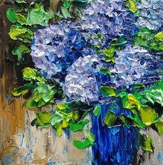 Blue Hydrangea - by Beata Sasik