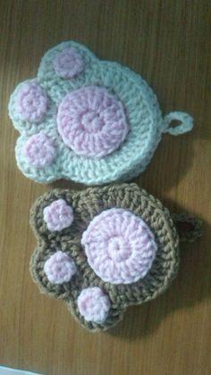 肉球のアクリルたわしの作り方|編み物|編み物・手芸・ソーイング
