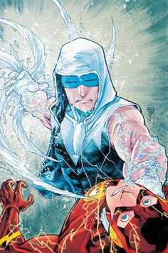 Captain Cold vs The Flash - Francis Manapul