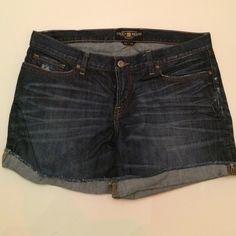 Lucky Brand jean shorts Lucky Brand Jean shorts. Lucky Brand Shorts Jean Shorts