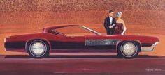 Concept car designed by Wayne Kady, (Buick-Cadillac designer of the 1960s)