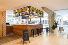 Bar Bellaccino designed and construct by Guru Projects