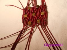033 (Small) Macrame Tutorial, Macrame Bracelets, Plant Hanger, Petra, Patterns, Bracelet, Embroidery, Tutorials, Block Prints