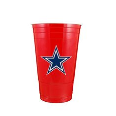 Shop Dallas Cowboys Red Plastic Party Cup and other products from the Official Dallas Cowboys Pro Shop! Dallas Cowboys Crafts, Dallas Cowboys Funny, Dallas Cowboys Pro Shop, Cowboys 4, Dallas Cowboys Football, Football Team, Football Stuff, Cowboy Home Decor, Cowboy Crafts