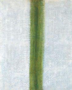Untitled (Green Stripe) by Olga Rozanova, 1917 Japan Design, Green Stripes, Art History, Contemporary Art, Abstract Art, Museum, Artist, Modern, Japanese Design