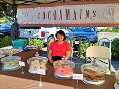 macaron selling start up at farmers market now sales to macys