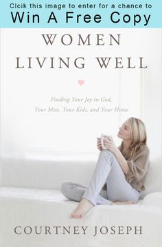I just entered to win a free copy of Courtney Joseph's new book, Women Living Well!    Click this link and enter with me!  http://unveiledwife.com/women-living-well-by-courtney-joseph-book-review/