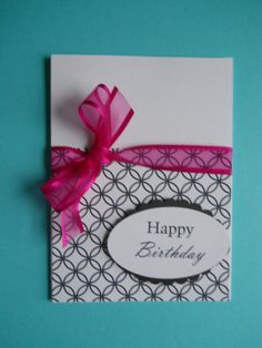 Handmade Card  Happy Birthday STOCK Up NOW by CooCoo4UCreations, $2.00