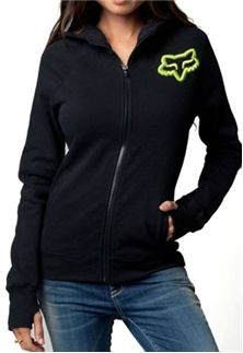 Fox Racing Womens Disperse Zip Hoody