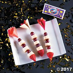 blast off into fun with this gods galaxy vbs rocket fruit kabobs recipe idea snack time at vacation bible school will be superpowered with these treats