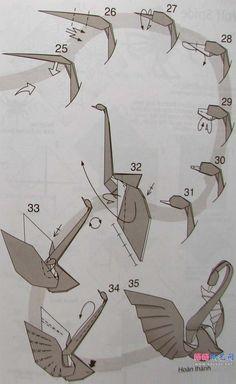 origami goose 5