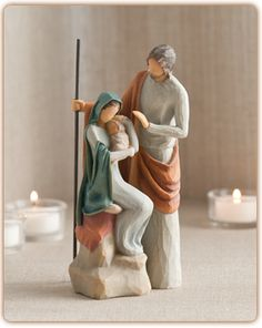 Really love this new Willow Tree Nativity - The Holy Family - A child is born