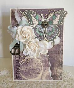 Riddersholm Design: Big butterfly card