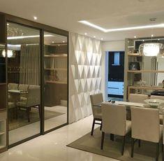 Quando o revestimento e iluminação fazem toda a diferença no espaço. Amei! @pontodecor Projeto Rebeca Lemos www.homeidea.com #bloghomeidea #olioliteam #arquitetura #ambiente #archdecor #homeidea #archdesign #hi #homestyle #home #homedecor #pontodecor #homedesign #photooftheday #love #interiordesign #interiores #cute #picoftheday #decoration #world #lovedecor #architecture #archlovers #inspiration #project #ambientesintegrados