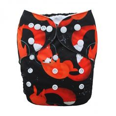 5 Layers Cloth Diaper Bamboo Fiber Charcoal Washable Nappies Insert  U Pick DB