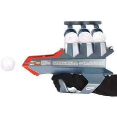 The 50 Foot Snowball Launcher - Hammacher Schlemmer