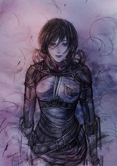 Mikasa Ackerman - still waiting for him come home