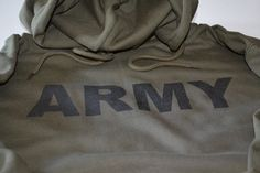 ARMY Hoodie Military Hooded Sweatshirt Armed Forces Infantry Rangers Sweater Gift For Men Husband Father Boyfriend New Screen Print on Etsy, $34.99