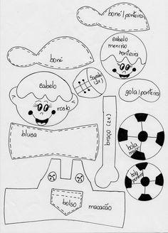 Fofucho Plano Niño Fútbol