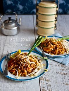 An Authentic Pad Thai & The Pursuit of a Recipe!