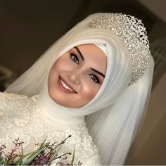 Tesettür Gelin Tacı Modelleri You can find different rumors about the history of the marriage dress; tesettür First Narration; Muslim Wedding Gown, Hijabi Wedding, Muslimah Wedding Dress, Muslim Wedding Dresses, Muslim Brides, Muslim Dress, Bridal Dresses, Wedding Gowns, Hijab Dress