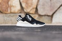 The Y-3 Retro Boost is set to return this season in a clean black and white colorway. A high fashion rendition of adidas' reigning runner, the sneakers are constructed from a black, neoprene upper, ov...