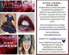 Visit my Website: www.glamitup2.com or JOIN ME LIVE on Tuesdays or Thursdays AT 8:30PM EST www.facebook.com/groups/glamitupwithtara