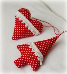 karácsonyi díszek készítése textilből - Google keresés