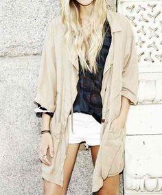 Isabel Marant oversized jacket.