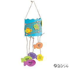 Jesus Fish Mobile Craft Kit 12 for 7.25