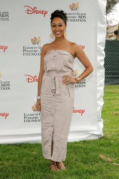 Tamara Mowry 2012 Pediatric Aids Foundation's A Time For Heroes Event