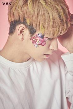VAV drops concept teasers for 2nd digital single 'Flower' | allkpop.com