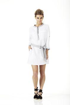 Bridget Shirt Dress - Skye Harte