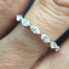 Picking a wedding band can be a tricky situation, so I have rounded up some  suggestions that caught my eye. I hope you enjoy my picks!  1. Era Jewelry Seventh Brick Brigade Ring ($605) - baguettes are always a  good idea this design from Era Jewelry is winner and a great price.  2. Maejean V
