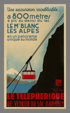 Le Téléphérique de Veyrier _______________________________ Chemins de Fer de Paris à Lyon et à la Méditerranée