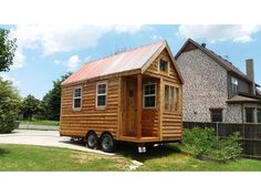 New Tiny House With Truck