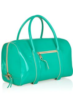 chloe patent leather duffle bag...sick color