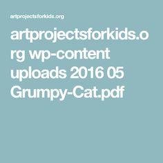 artprojectsforkids.org wp-content uploads 2016 05 Grumpy-Cat.pdf