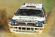 Lancia Delta Integrale rally car Every Friday the with Toyota Corolla, Toyota Celica, Toyota Supra Mk4, Road Race Car, Off Road Racing, Race Cars, Auto Racing, Ford Sierra, Lancia Delta