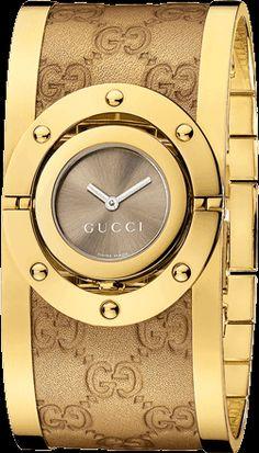 Twirl Große Uhr YA112434   Gucci Uhren und Schmuck
