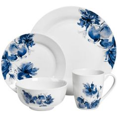 JCPenney Home™ Dana Floral 16-pc. Dinnerware Set  found at @JCPenney