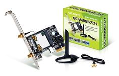 Gigabyte GC-WB867D-I Network Card Gigabyte GCWB867DI GCWB867DI Components Motherboards (Barcode EAN = 5712505306925). http://www.comparestoreprices.co.uk/december-2016-6/gigabyte-gc-wb867d-i-network-card.asp
