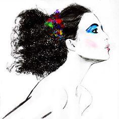 Desenho de Moda de Jill Tovey
