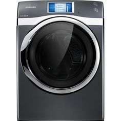 7.5 Cu. Ft. Front-Load Gas Steam Dryer with Touch Screen LCD by Samsung Appliances $1,799.99 #Samsung #Dryer www.olindes.com