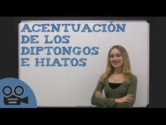 Acentuación de los triptongos - YouTube Ap Spanish, Spanish Grammar, Teaching Spanish, Spanish Language, Teaching Math, Maths, Dual Language, Flipped Classroom, Spanish Classroom