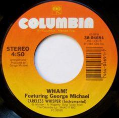 Wham! Featuring George Michael  Careless Whisper