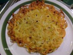 Kartoffelspaghetti aus der Pfanne (Spiralschneider-Rezept) - Rezept